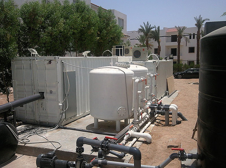 Biodos Containerized Water Treatment Plant